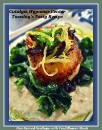Pan Seared Scallops - Catalyst Hypnosis Center | Healthy Recipes | Scoop.it
