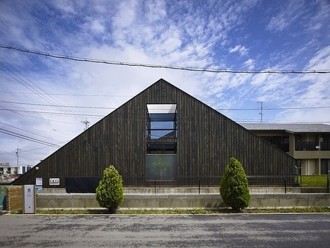 Ogaki House by Katsutoshi Sasaki + Associates | sustainable architecture | Scoop.it