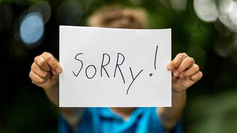 Sorry, but you may be teaching your kids to apologize all wrong   Kickin' Kickers   Scoop.it