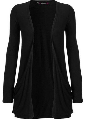 Women's Machine Washable Long Sleeved Waterfall Cardigan | Cardigans For Women | Scoop.it