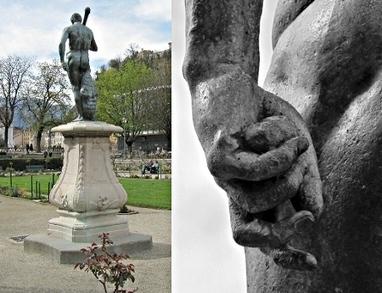 Les étranges sphères dans la main gauche de l'Hercule de Grenoble | Brèves de scoop | Scoop.it