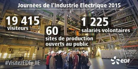 Vous étiez nombreux à visiter le cœur de nos installations électriques ! Merci à tous ! | Centrale thermique EDF du Havre | Scoop.it