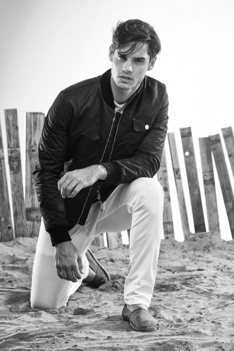Alex Wilms Appears in Siviglia Spring/Summer 2015 Look Book | Le Marche & Fashion | Scoop.it