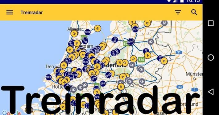 Edu-Curator: Treinradar(s): handige online realtime treinkaarten met actuele informatie | Edu-Curator | Scoop.it