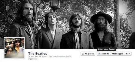 Facebook lancia il pulsante Ascolta per le pagine dei musicisti | Social Media - Strategies & tools. | Scoop.it