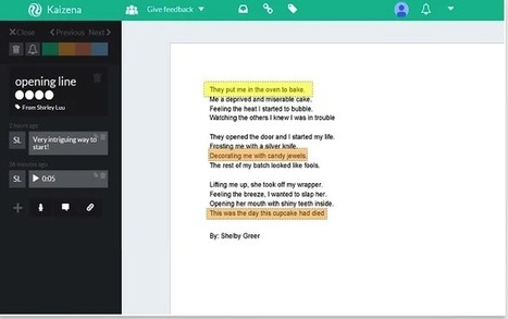 Google Docs + Kaizena = Digital Writer's Notebook | iEduc | Scoop.it