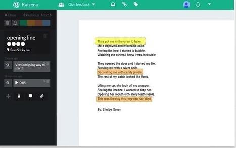 Google Docs + Kaizena = Digital Writer's Notebook | iEduc | Scoop.it