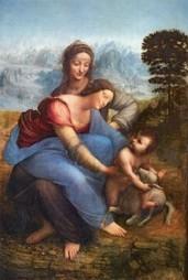 La Vierge à l'Enfant avec sainte Anne, Léonard de Vinci, 1503-1519 - L'Elephant la revue | L'éléphant - La revue | Scoop.it