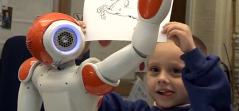 Un robot pour accompagner les enfants autistes dans les écoles | enseignement | Scoop.it