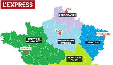Réforme territoriale: le redécoupage idéal des régions (selon L'Express) | UDOTSI de Haute-Savoie | Scoop.it