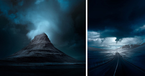 Iceland Infrared: Stark Photographs of Icelandic Landscapes by Andy Lee | Nature | Scoop.it
