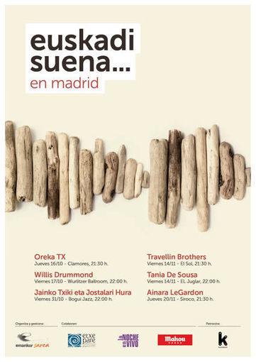 Primera edición del festival Euskadi Suena… en Madrid   Efe Eme   10Paciencia.com   Scoop.it
