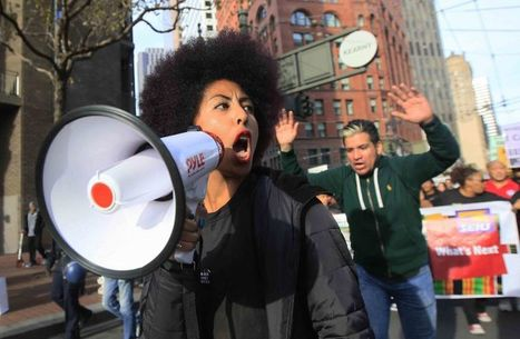 Social media playing key role at protests - SFGate | Lost in the Social Media | Scoop.it