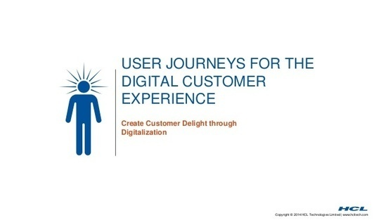 User Journey for the Digital Customer Experience