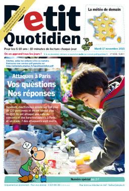 Parler des attentats aux enfants - 3 éditions spéciales Le Petit Quotidien | Santé et médias | Scoop.it