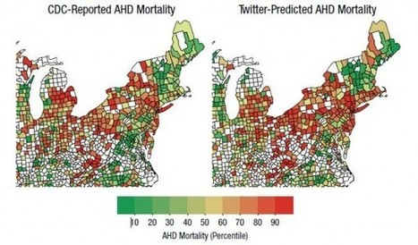 Twitter can predict heart disease, study says - SFGate (blog) | SNA - Social Network Analysis ... and more. | Scoop.it