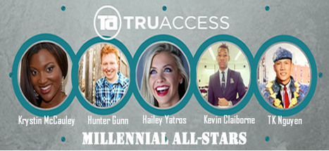 TRU ACCESS MILLENNIAL ALL-STARS MARCH 2014 | Culturational Chemistry™ | Scoop.it