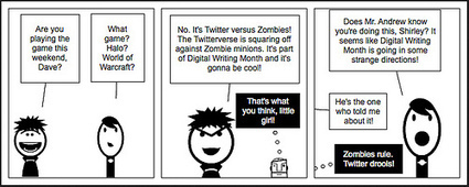 Digital Writing Month: Twitter vs. Zombies | #digiwrimo: Digital Writing Month | Scoop.it