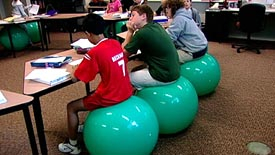 Exercise balls help focus   Educating for Empathy and Emotional Well-Being   Scoop.it