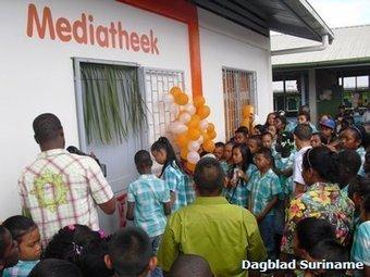 OS II Tamanredjo krijgt eindelijk eigen bibliotheek   Radio-Suriname ...   Schoolmediatheken   Scoop.it