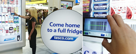 Tesco trials virtual grocery shopping at Gatwick Airport | New Technology | Scoop.it