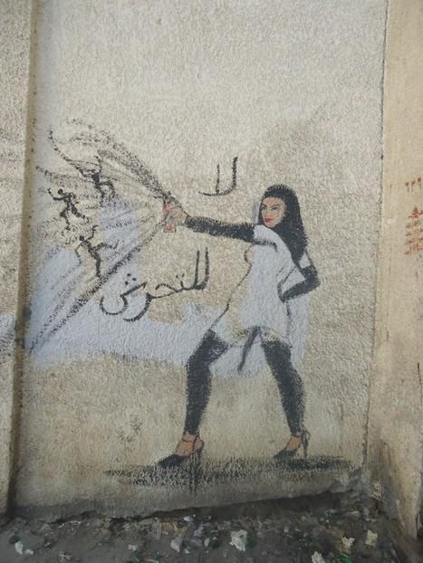Feminist Street Art of Cairo - Scoop Empire | the intimate city | Scoop.it