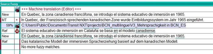 (CAT) - Transit NXT meets machine translation – nº 2 | Michael Scholand | Glossarissimo! | Scoop.it