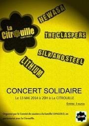 La Citrouille, 13 mai : concert solidaire pour la famille Lungolo | Ligue des Droits de l'Homme – Section de Loudéac centre Bretagne | Ligue des droits de l'Homme, section de Loudéac centre Bretagne | Scoop.it