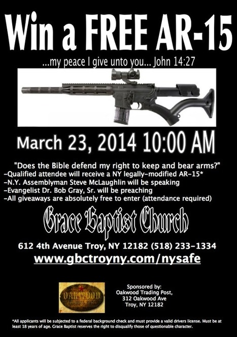 Baptist churches giving away guns to attract new members - Fox News | What's up? | Scoop.it