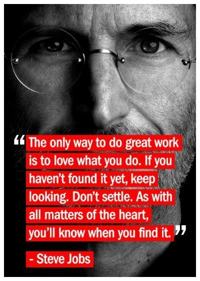 You will Know When You Find it | Steve Jobs | Scoop.it