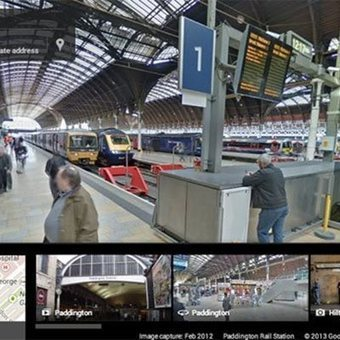 Google Street View dentro de los aeropuertos, estaciones de tren y metro | #GoogleMaps | Scoop.it