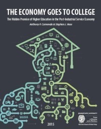 Georgetown´s CEW New Report: The Economy Goes to College | TRENDS IN HIGHER EDUCATION | Scoop.it