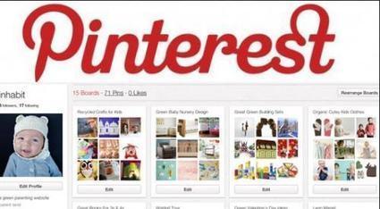 Pinterest : les français de plus en plus séduits par ce réseau social - Zebulon.fr | RESEAUX SOCIAUX | Scoop.it