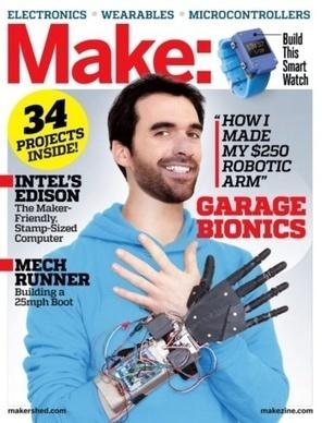Après s'être reconstruit la main en 3D, il veut réparer tous les handicaps dans un fab lab | Responsabilité Sociale des Entreprises | Scoop.it