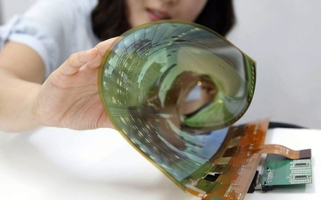 'Roll-up' television: coming soon to your living room | 21st Century Innovative Technologies and Developments as also discoveries, curiosity ( insolite)... | Scoop.it
