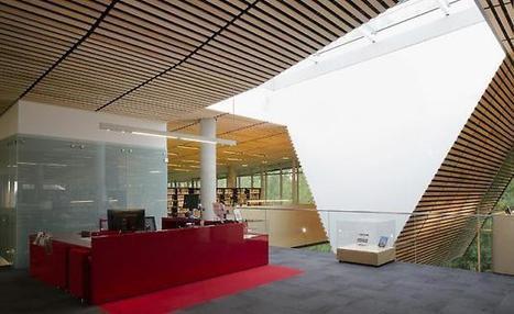 La Bibliothèque du Boisé   Projets Verts   Architecture et aménagement en bibliothèque   Scoop.it