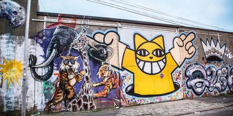 Graffeurs agrafés | Ambiances, Architectures, Urbanités | Scoop.it