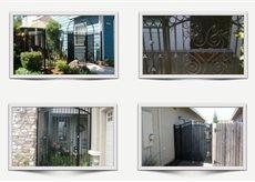 Residential Entry Gates and Iron Products | Ornamental Iron | Wrought iron fencing | Driveway gate | Scoop.it
