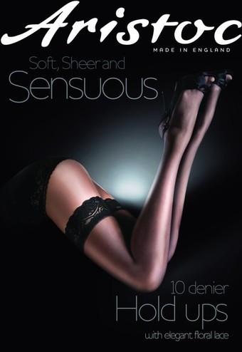 Eleganta tunna stay ups Sensuous 10 DEN från Aristoc | strumpbyxor boutique | Scoop.it