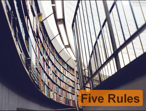 Fair Use and Curation - Five Rules to Curate by | E-Learning and Online Teaching | Scoop.it