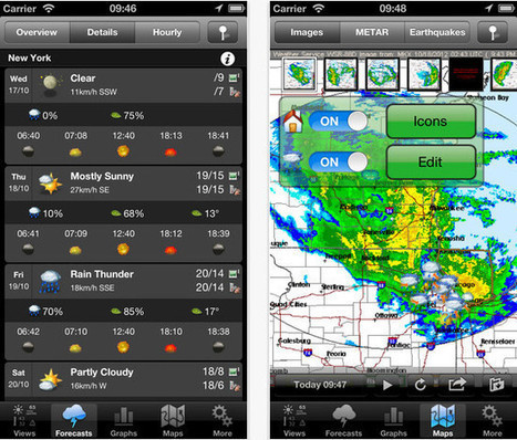 17 Free Weather iPhone Apps | Digital-News on Scoop.it today | Scoop.it