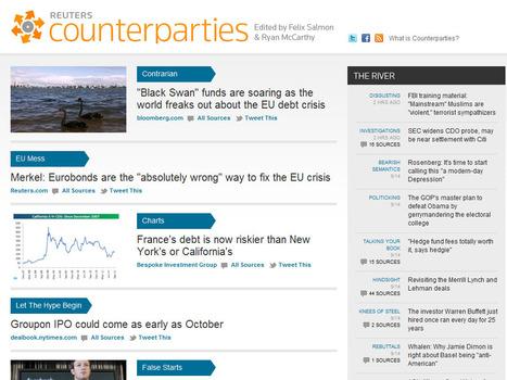 Reuters startet Content-Curation-Portal - Counterparties.com (Video) | MEDIACLUB | Scoop.it