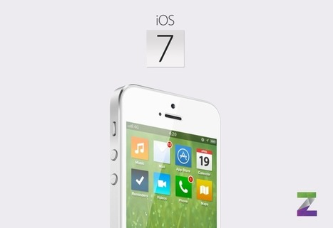 iOS 7 Concept Designs: Welcome To The Future Of The iPhone | Macwidgets..some mac news clips | Scoop.it