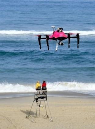 Sur une plage française, un drone pour aider au sauvetage des baigneurs | geeko | Drone | Scoop.it