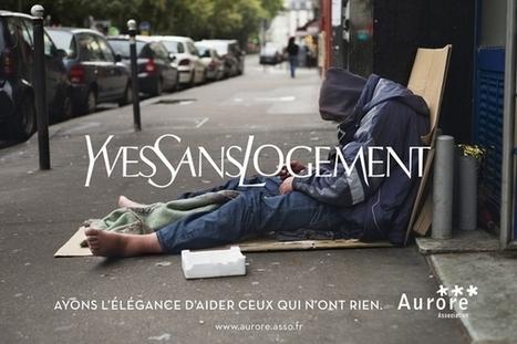 Aurore détourne les grandes marques de luxe pour sensibiliser à la cause des sans abri | Innovations sociales | Scoop.it
