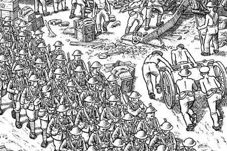 De notre envoyé spécial en 1916, Joe Sacco / ces frises dessinées qui racontent l'Histoire | Enseigner l'Histoire-Géographie | Scoop.it