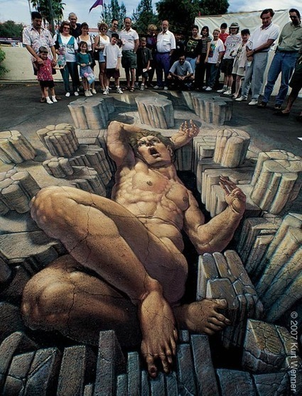 Top 5 Anamorphic 3D Street Artists | Machinimania | Scoop.it