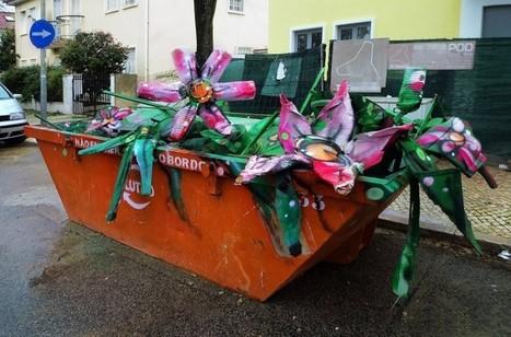 Quand les déchets ont une seconde vie grâce au street art | De Parents A Parents | Scoop.it