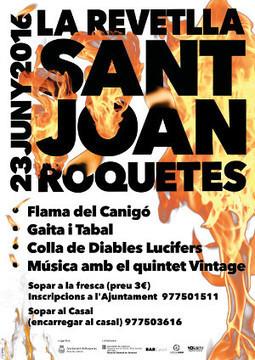 Revetlla de Sant Joan a l'Hort de Cruells   Roquetes   Scoop.it