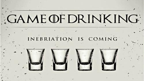 [#Infographie] Un jeu à boire pour les fans de Game Of Thrones !